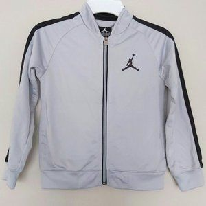 Jordan Gray Athletic Zip Up Boys S